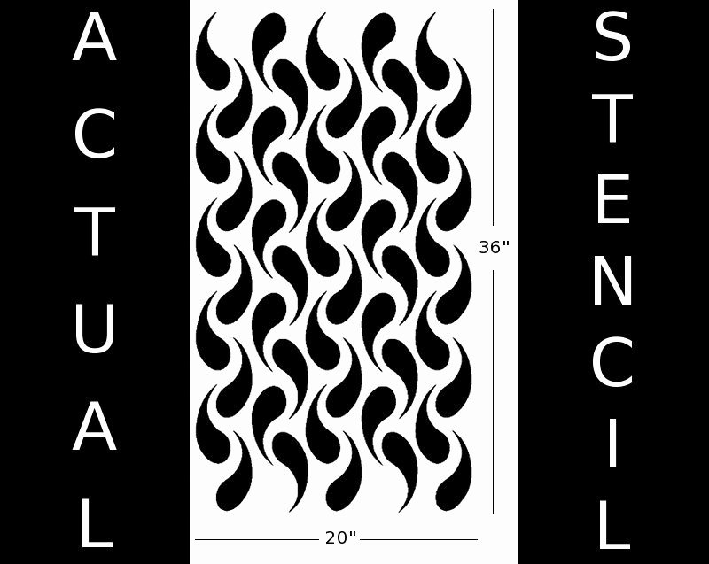 Free Printable Wall Art Stencils Inspirational Stencil for Walls Chainmail Pattern Modern Wall