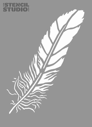Free Printable Wall Art Stencils Lovely Feather Stencils