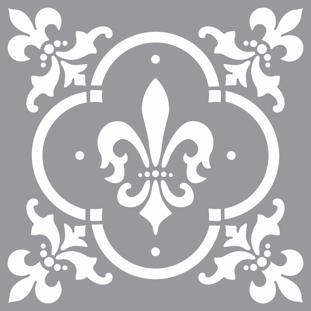 Free Printable Wall Art Stencils Unique Decoart Americana Decor Fleur De Lis Tile Stencil Ads04 K