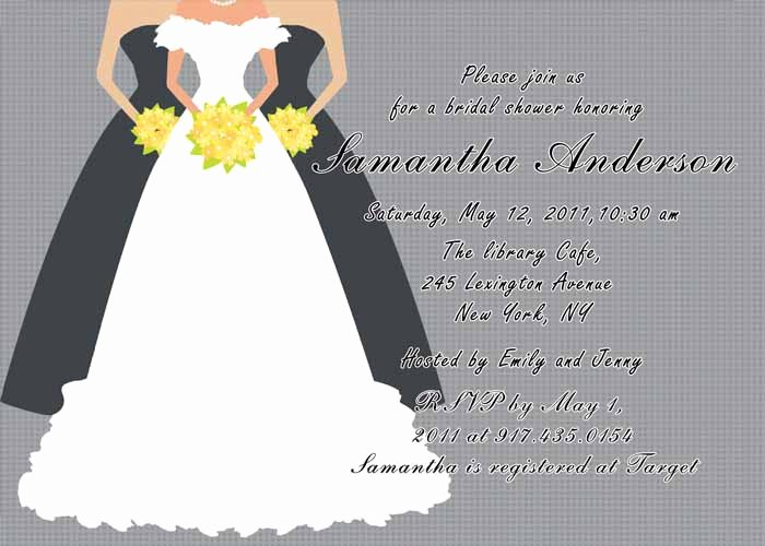 Free Printable Wedding Cards Awesome Printable Grey Bridal Shower Invitation Cards Ewbs019 as