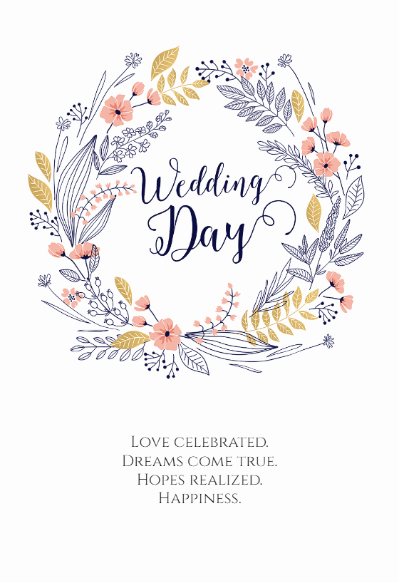 Free Printable Wedding Cards Beautiful Full Hearts Free Wedding Congratulations Card