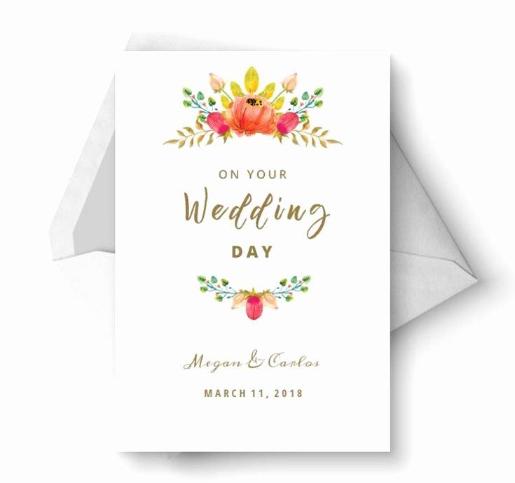 Free Printable Wedding Cards Inspirational Say Congrats with A Free Printable Wedding Card