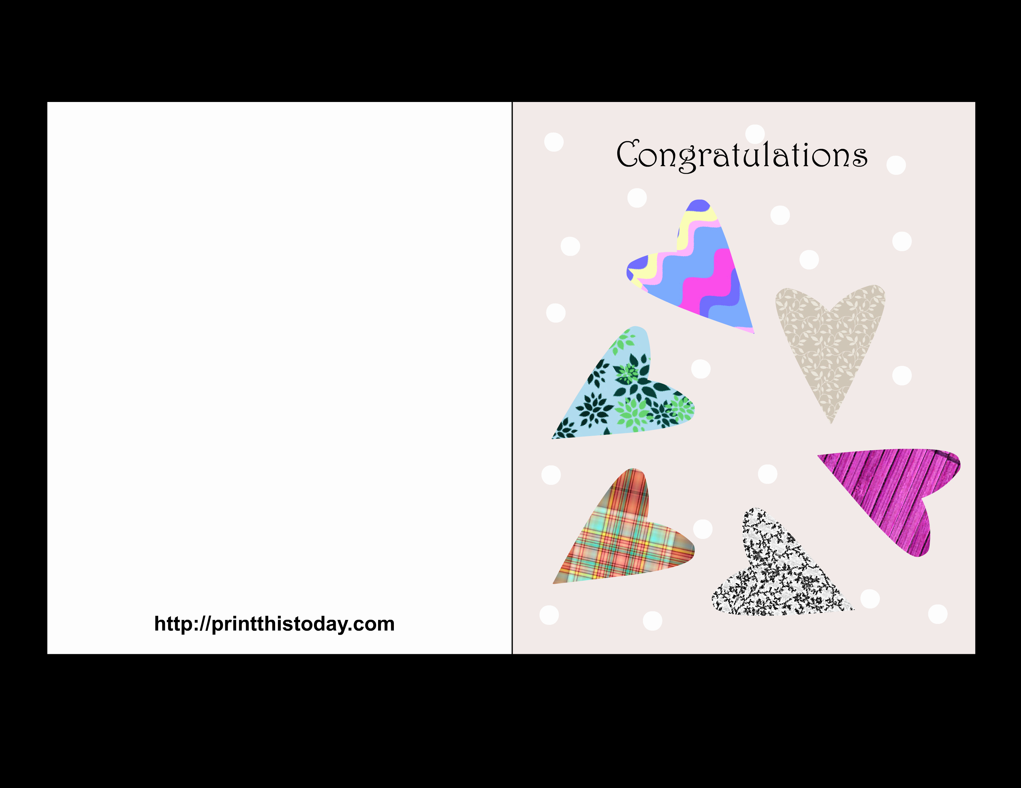Free Printable Wedding Cards New Free Printable Wedding Congratulations Cards