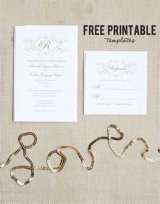 Free Printable Wedding Cards Unique Free Wedding Templates