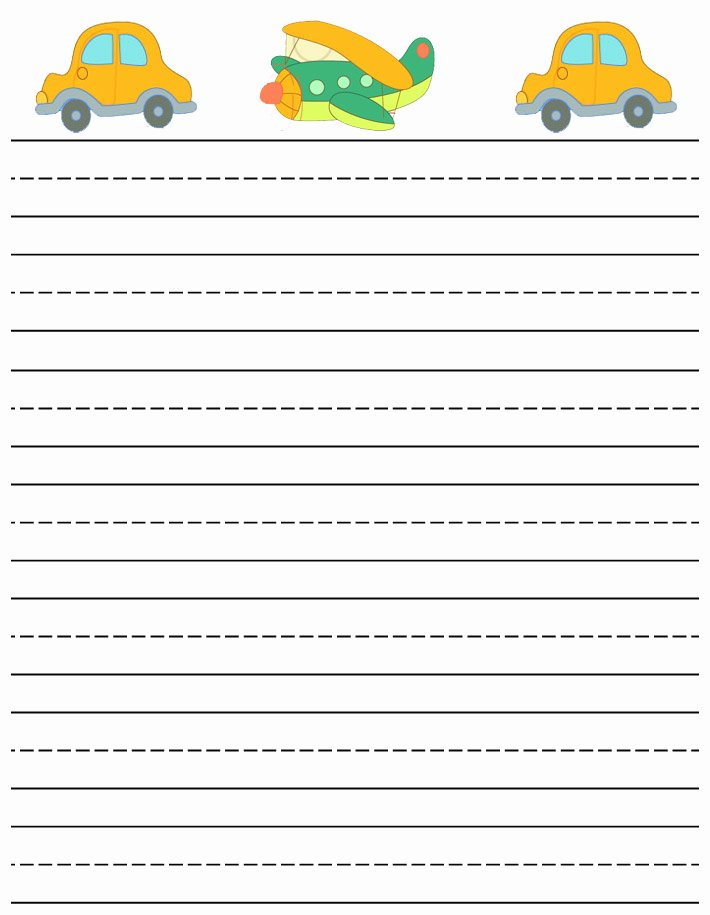 Free Printable Writing Paper Awesome Free Printable Stationery for Kids Free Lined Kids