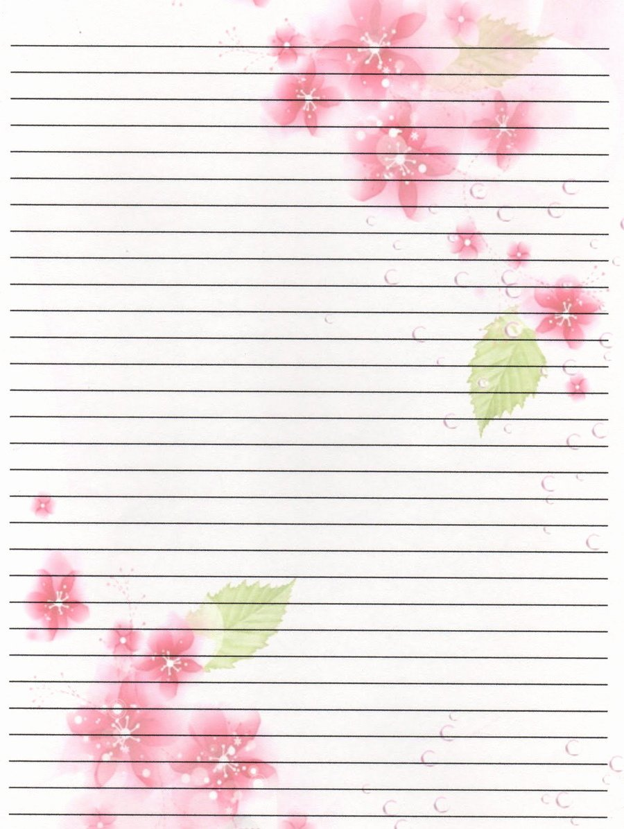 Free Printable Writing Paper Luxury 14 Best S Of Cute Lined Paper to Print Free