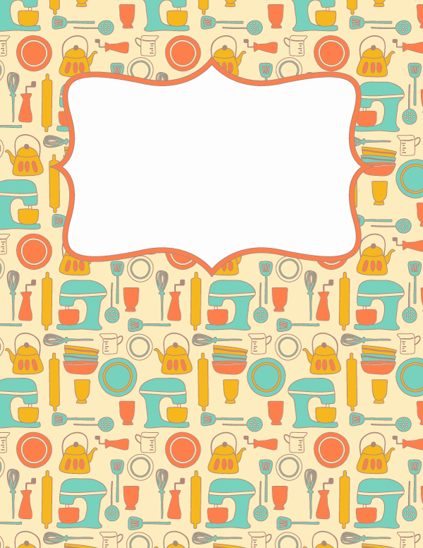 Free Recipe Binder Templates Lovely Free Printable Recipe Binder Cover Template Download the