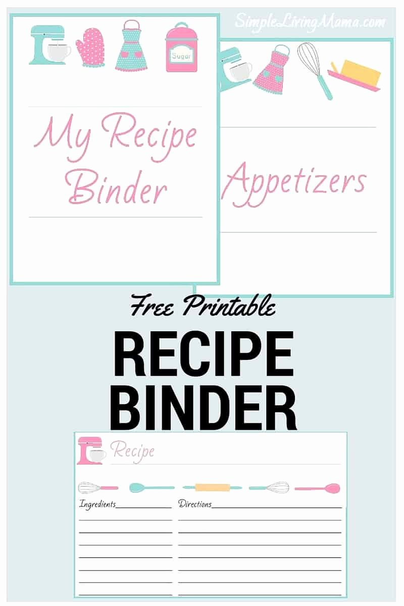 Free Recipe Binder Templates New How to Create A Family Recipe Book Passing Down