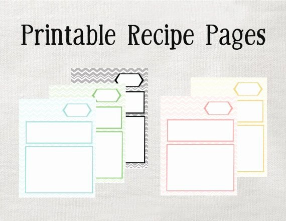 Free Recipe Binder Templates New Printable Recipe Binder Pages Microsoft Word Editable