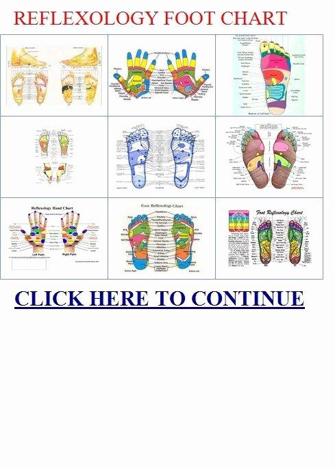 Free Reflexology Foot Chart Elegant Free Printable Foot Reflexology Chart