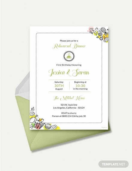 Free Rehearsal Dinner Template Awesome Free Rehearsal Dinner Party Invitation Template Download