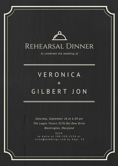 Free Rehearsal Dinner Template Beautiful Customize 411 Rehearsal Dinner Invitation Templates