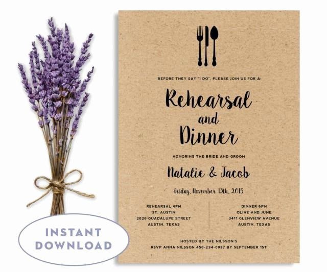 Free Rehearsal Dinner Template Best Of Rehearsal Dinner Invitation Template Wedding Rehearsal