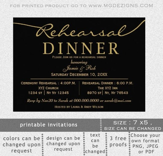 Free Rehearsal Dinner Template Fresh Printable Rehearsal Dinner Invitation Template Calligraphy
