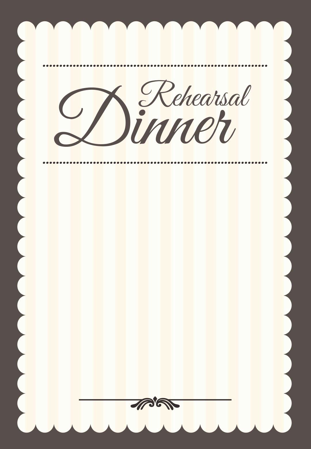 Free Rehearsal Dinner Template Inspirational Stamped Rehearsal Dinner Free Printable Rehearsal Dinner
