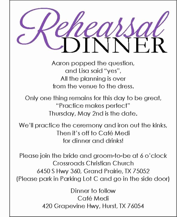 Free Rehearsal Dinner Template Unique Rehearsal Dinner Invite with Template Available