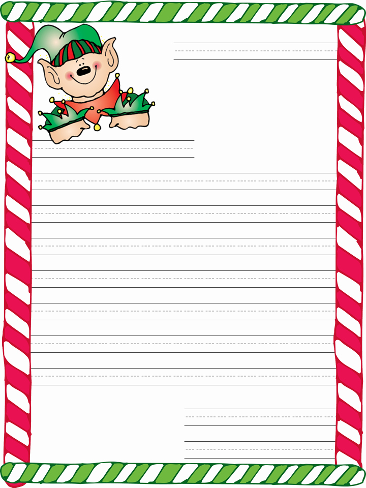 Free Santa Letter Template Lovely Blowing Dandelions Letters for Santa