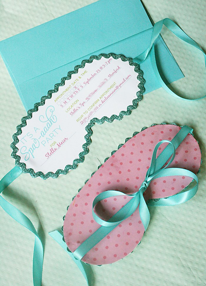 Free Spa Party Invitations Beautiful Kids Spa On Pinterest