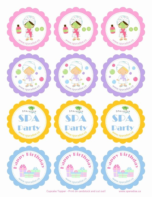 Free Spa Party Printables Best Of 17 Best Images About Spa Party Printables On Pinterest