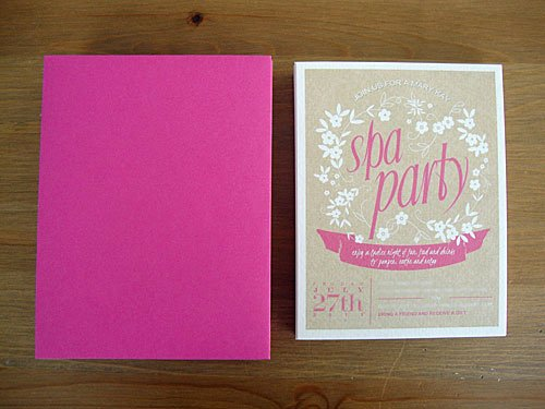 Free Spa Party Printables Unique Libbie Grove Design Free Printable Spa Party