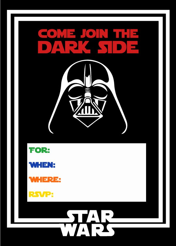 Free Star Wars Invitations Best Of Free Star Wars Party Printables A No Stress Way to A