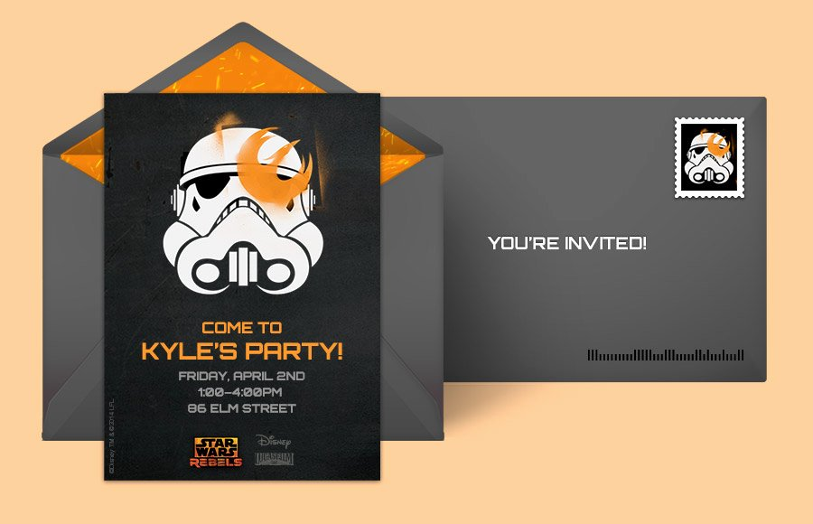 Free Star Wars Invitations Elegant Free Star Wars Invitations Star Wars Line Invitations