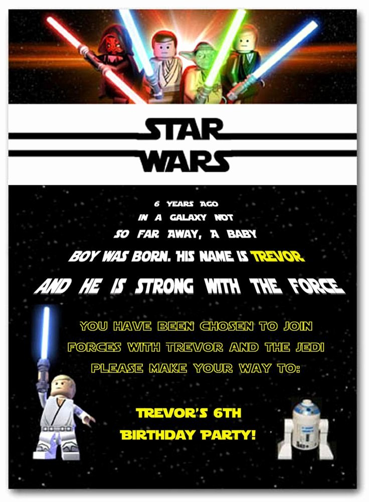 Free Star Wars Invitations Inspirational 25 Best Ideas About Star Wars Invitations On Pinterest