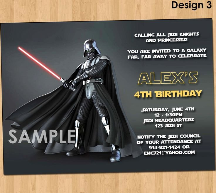 Free Star Wars Party Invitations Awesome 256 Best New Invitations Images On Pinterest