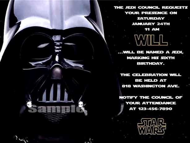 Free Star Wars Party Invitations Awesome the Best Star Wars Birthday Invitations by A Pro Party