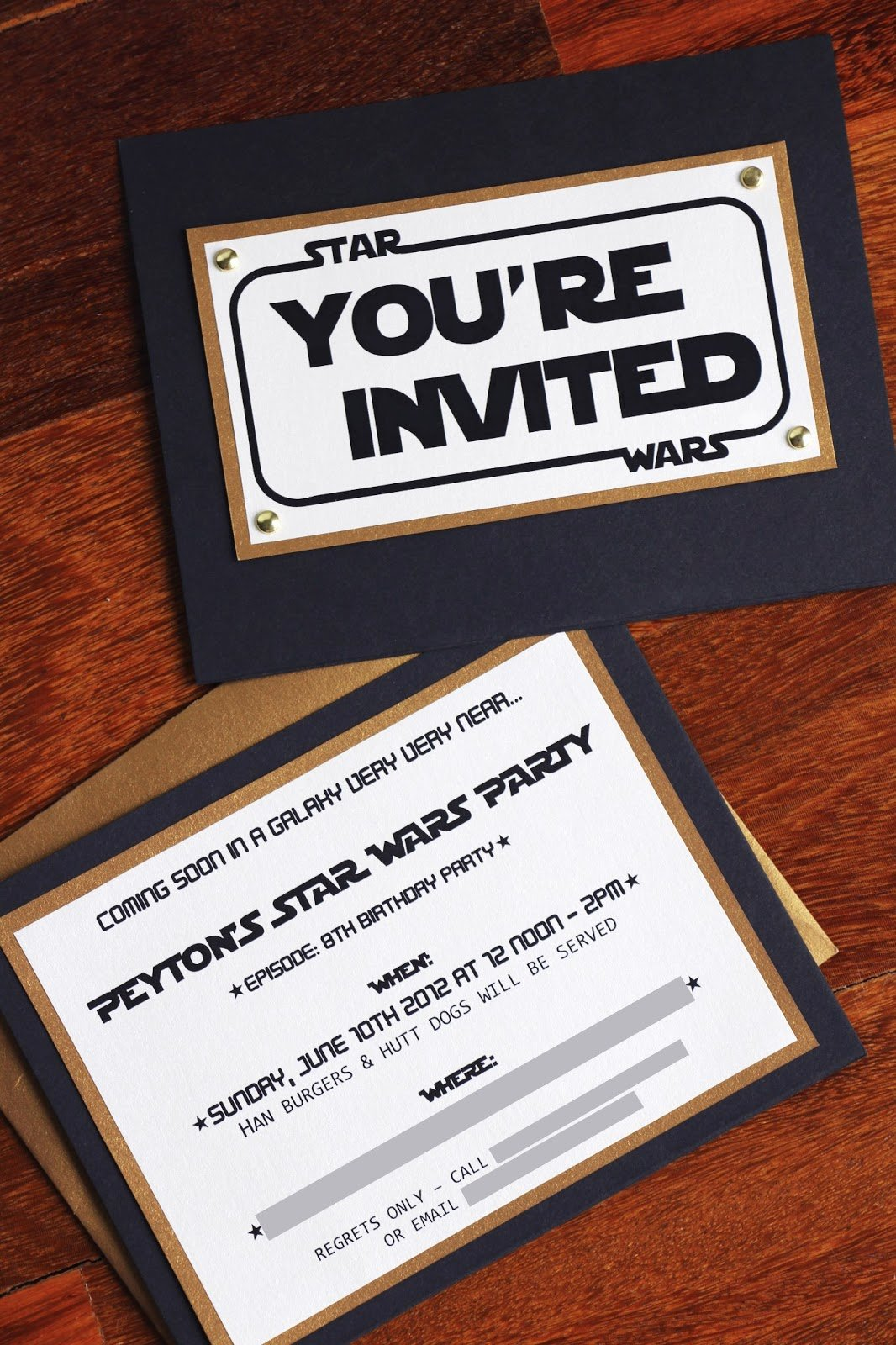 Free Star Wars Party Invitations Best Of the Contemplative Creative Star Wars Party Invitation