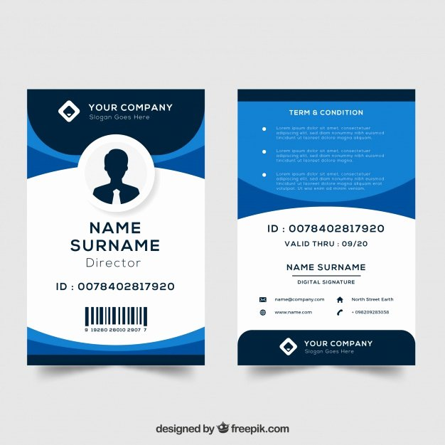 Free Student Id Template Best Of Id Card Template Vector