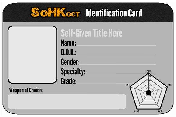 Free Student Id Template Elegant 29 Id Card Templates Psd