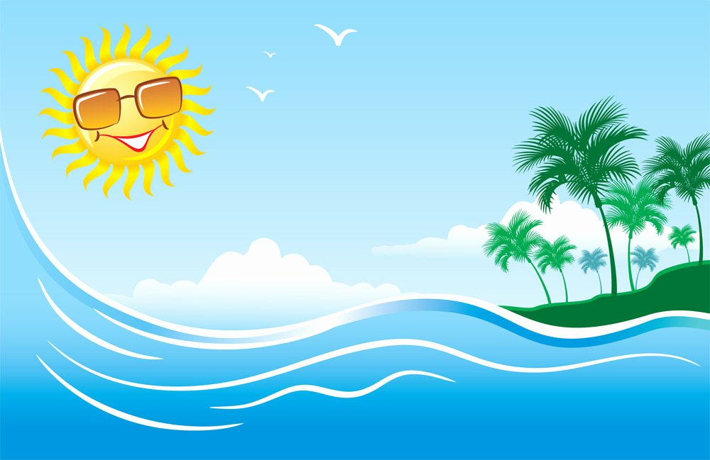 Free Summer Background Images Luxury Free Summer Clip Art Clipartix