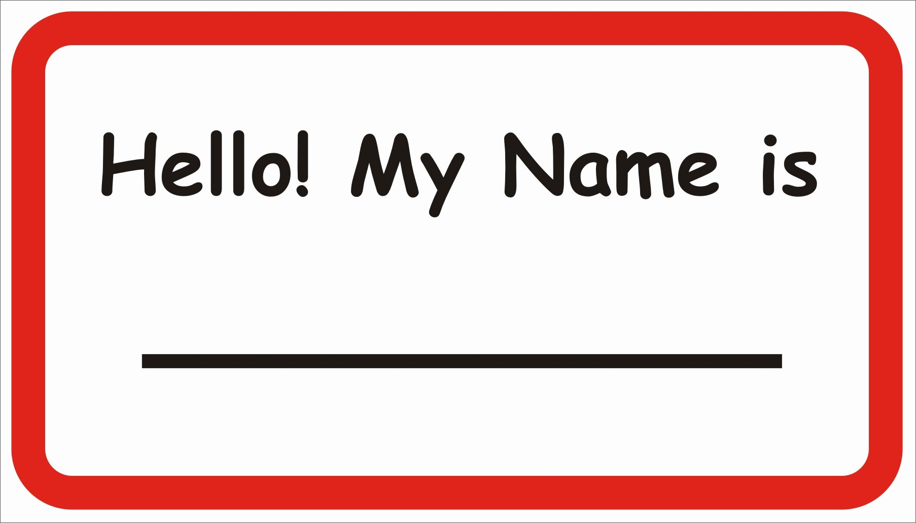 Free Template for Name Tags Awesome What S the Etiquette for Name Tags