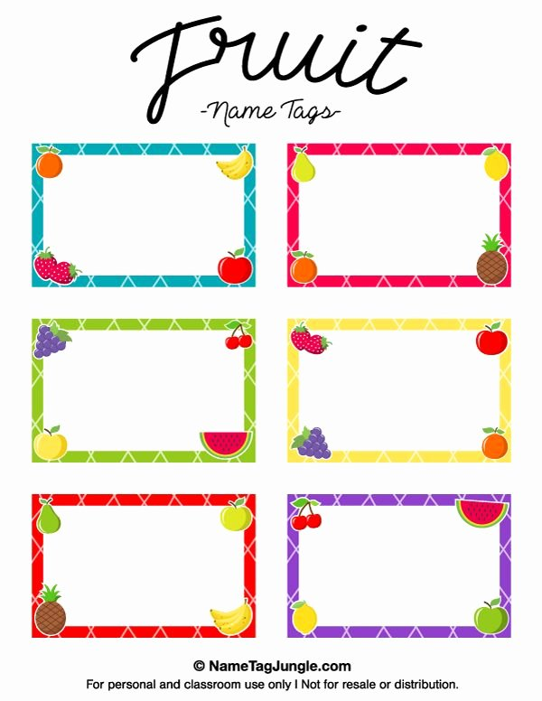 Free Template for Name Tags Best Of Pin by Muse Printables On Name Tags at Nametagjungle
