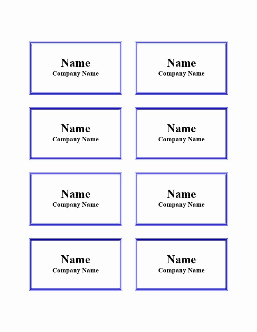 Free Template for Name Tags Fresh 47 Free Name Tag Badge Templates Template Lab