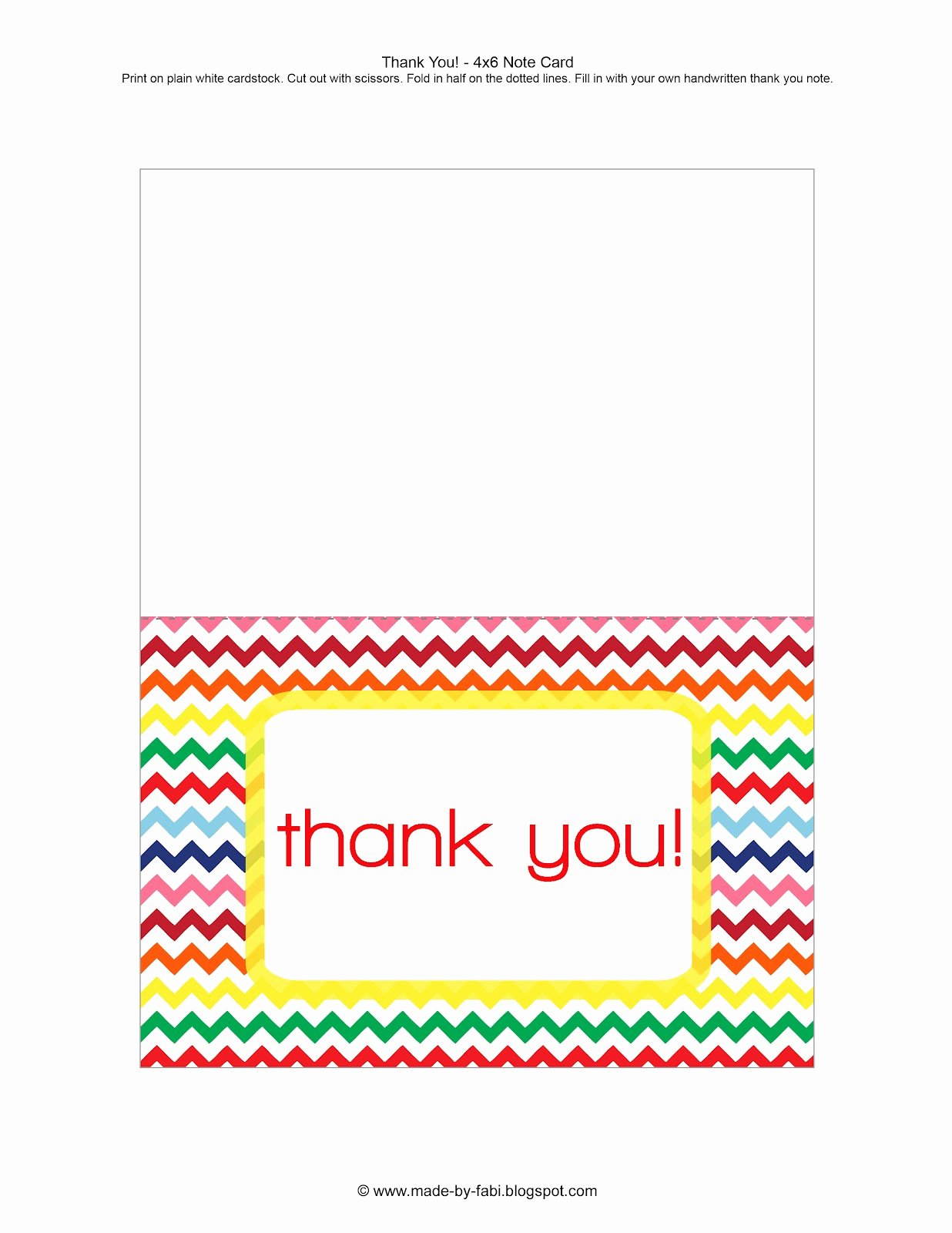 Free Thank You Cards Templates Awesome Thank You Card Free Printable