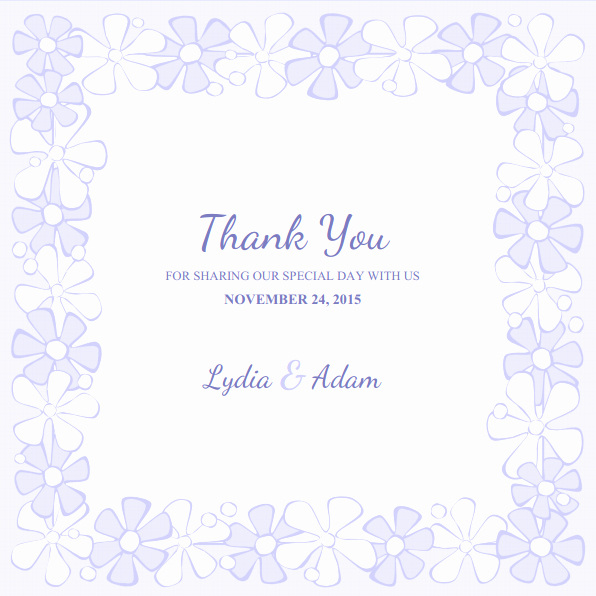 Free Thank You Cards Templates Inspirational Thank You Business Card Template