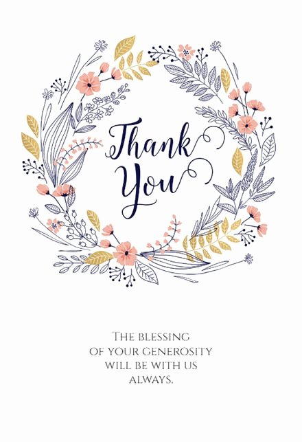 Free Thank You Cards Templates Lovely Thank You Card Templates Free