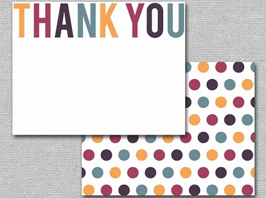 Free Thank You Cards Templates New 25 Beautiful Printable Thank You Card Templates Xdesigns