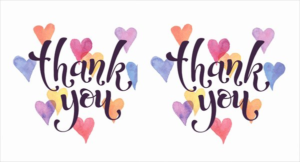 Free Thank You Cards Templates Unique 40 Free Card Templates Jpg Psd Vector Eps