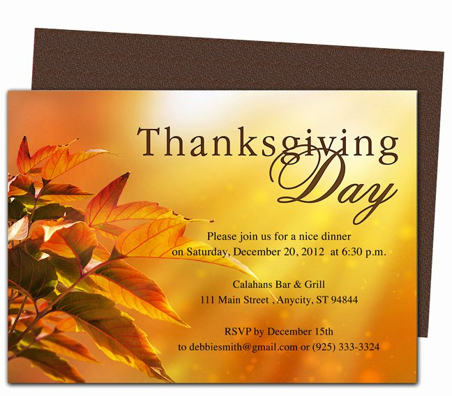 Free Thanksgiving Templates for Word Luxury Thanksgiving Day Invitation Templates – Happy Easter