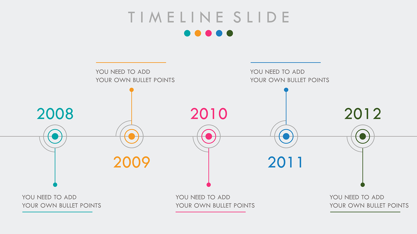 Free Timeline Powerpoint Template Best Of Timeline Free Powerpoint Template On Behance