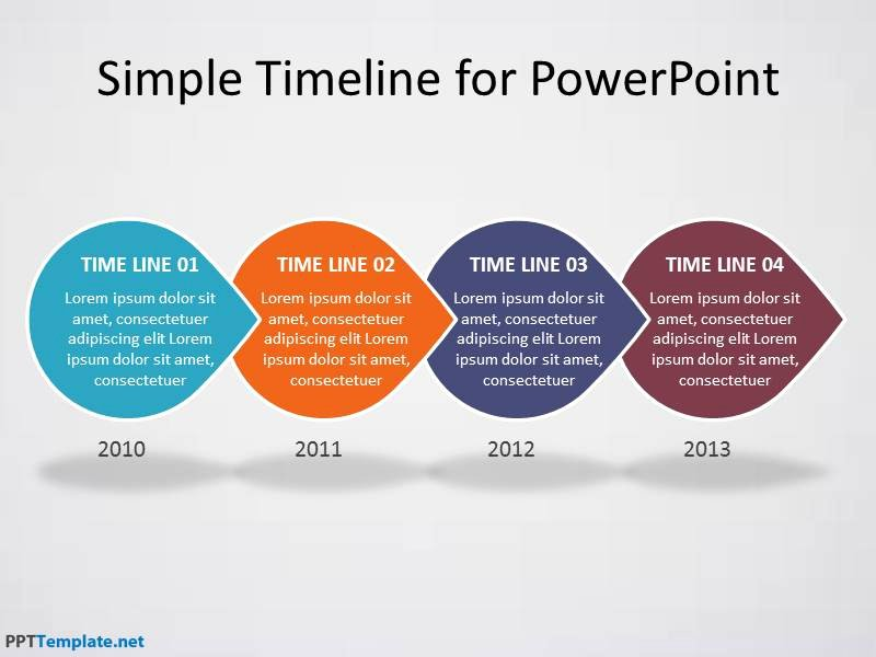 Free Timeline Powerpoint Template Fresh Free Timeline Ppt Template