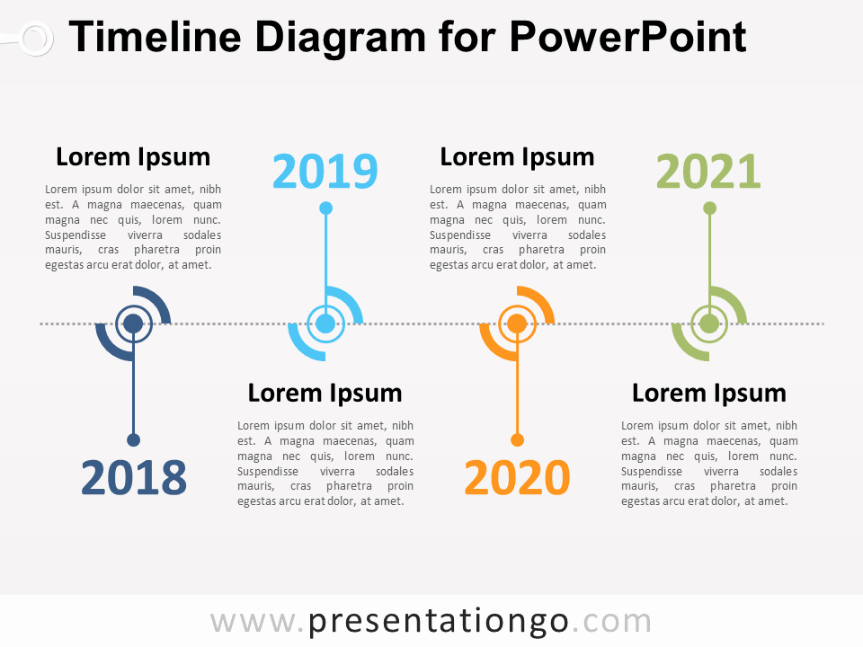 Free Timeline Powerpoint Template Luxury Timeline Diagram for Powerpoint Presentationgo