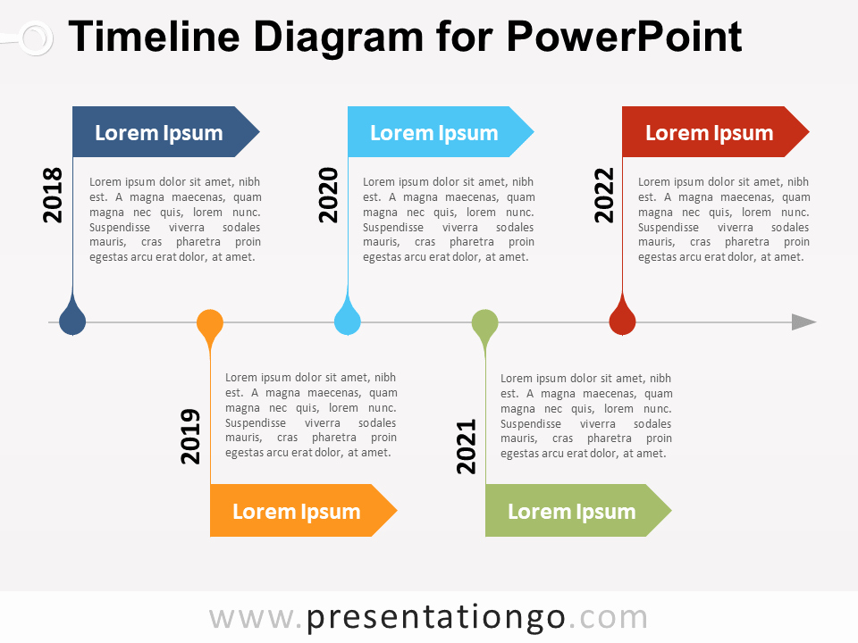 Free Timeline Powerpoint Template Unique Timeline Diagram for Powerpoint Presentationgo