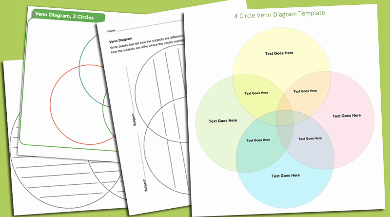 Free Venn Diagram Template Elegant Venn Diagram Template 6 Printable Venn Diagrams