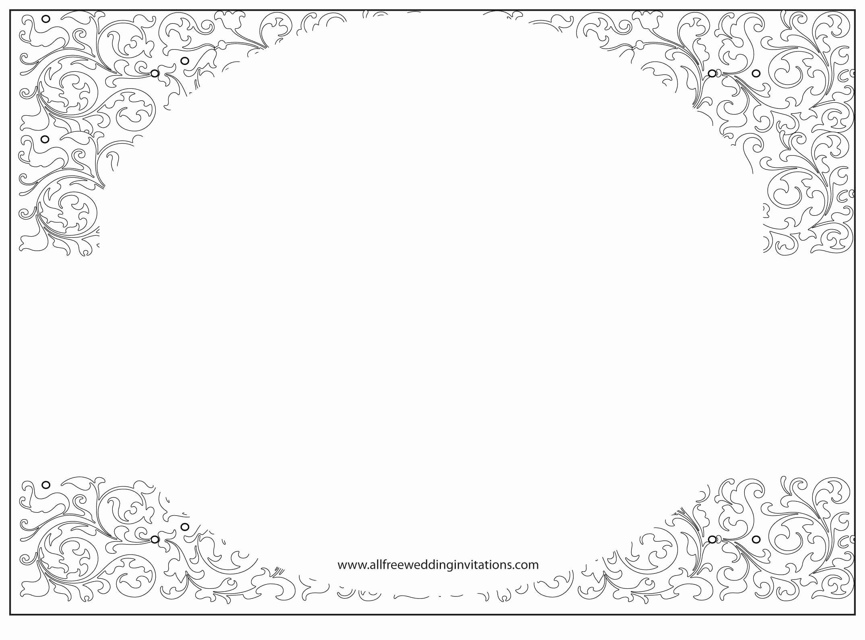 Free Wedding Invitation Printables Elegant Wedding Invitation Free Wedding Invitation Template