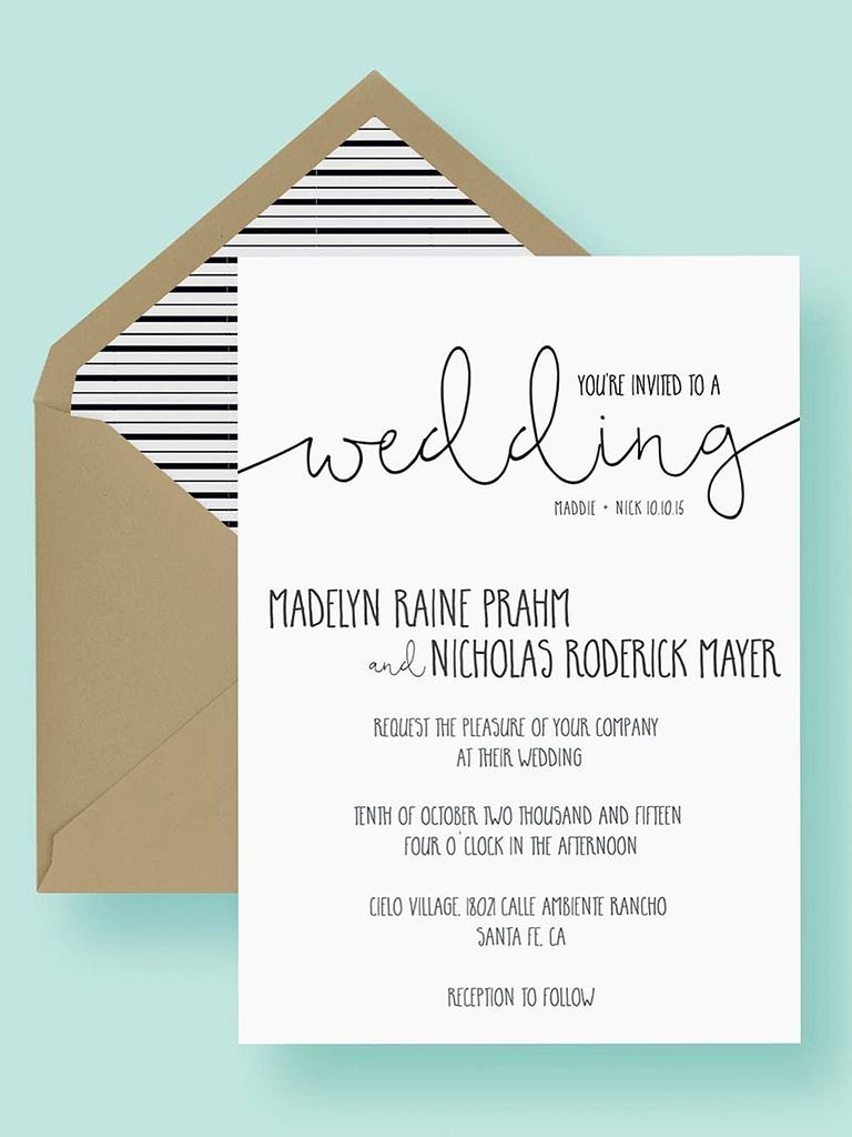 Free Wedding Invitation Printables Inspirational 16 Printable Wedding Invitation Templates You Can Diy
