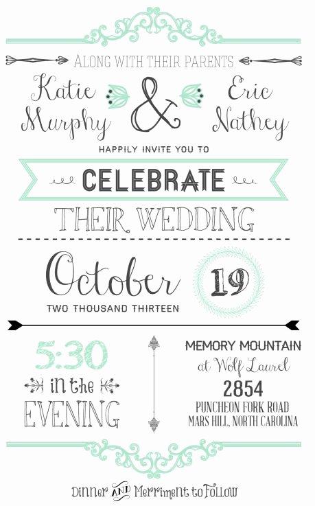 Free Wedding Invitation Printables New Free Invitation Templates On Pinterest